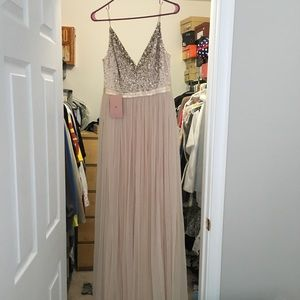 BHLDN Avery Size 6, Oyster